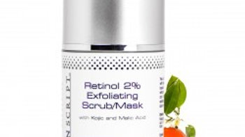 Retinol 2% Exfoliating Scrub/Mask 1.7 oz.