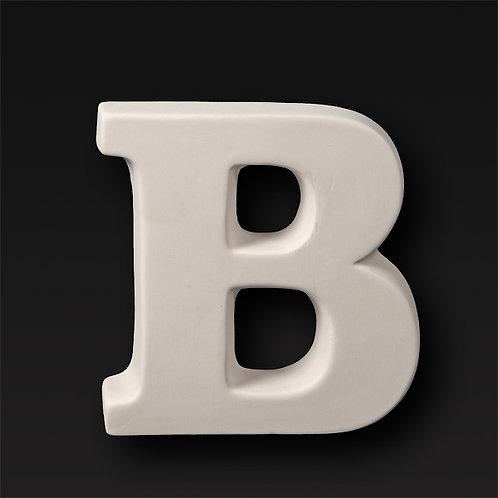 Letter B 12.7cm