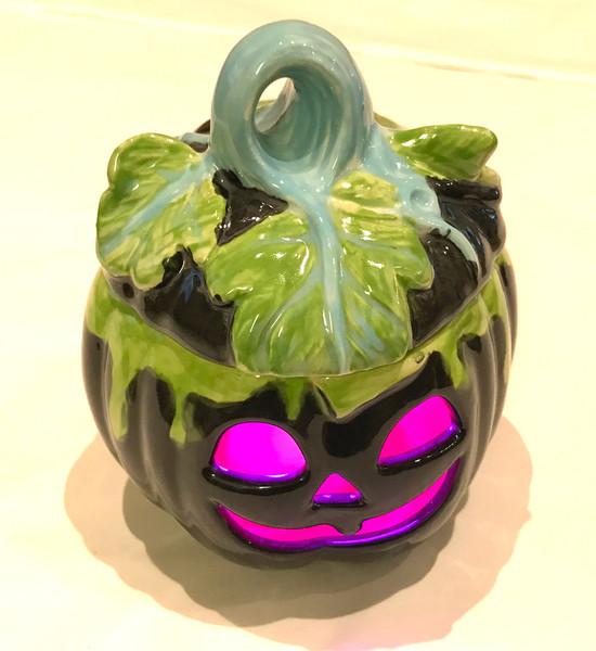 Black Pumpkin Tealight