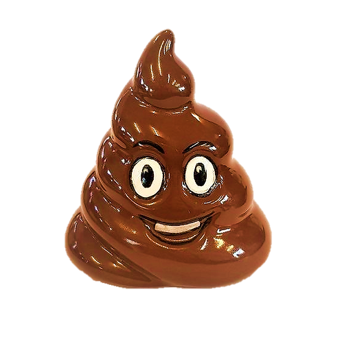 Poo Emoji Ornament