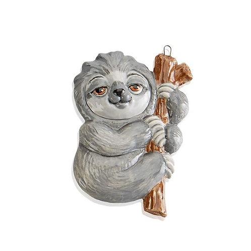 Flat Sloth Hanging Ornament