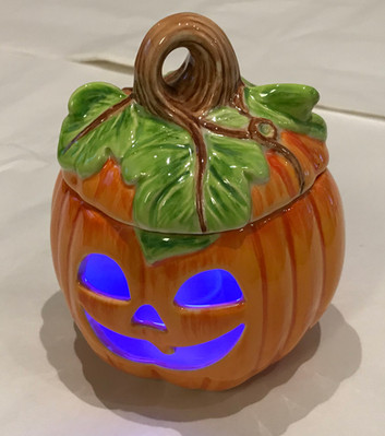 Orange Pumpkin Tealight