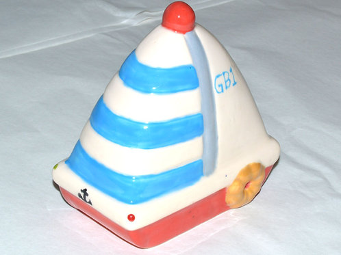 Sailing Boat Money Box