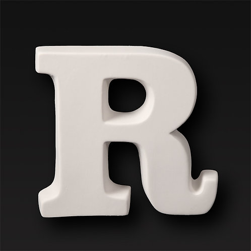Letter R 12.7cm
