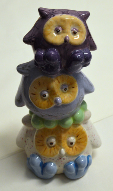 Pile of Owls Money Box