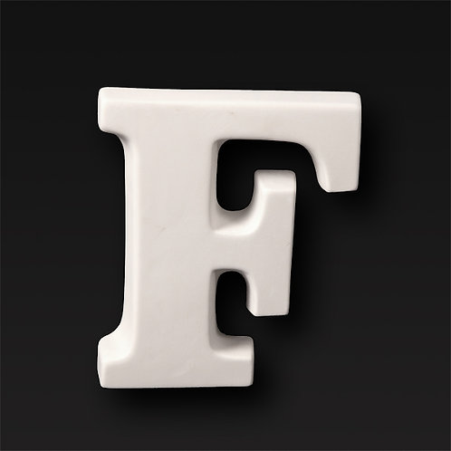 Letter F 12.7cm