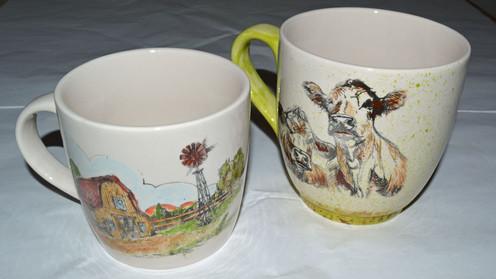 Silkscreen Mugs
