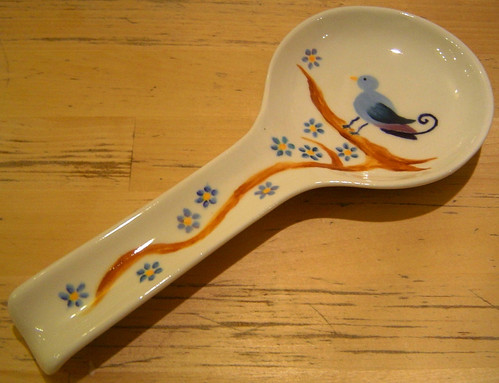 Bird Spoon Rest