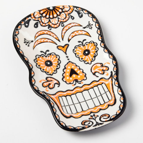 Paint by Numbers - Sugar Skull Plate