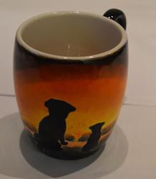 Cat Sunset Mug