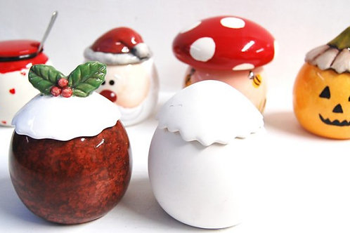 Christmas Pudding Trinket Box