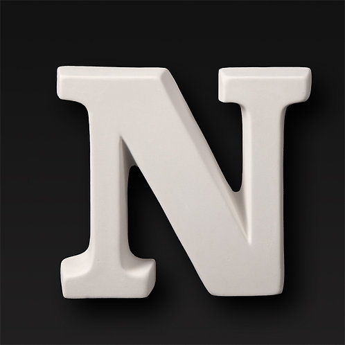 Letter N 12.7cm