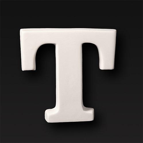 Letter T 12.7cm