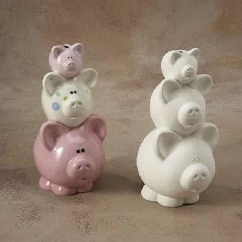 Pile of Pigs Money Box