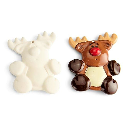 Flat Reindeer Ornament