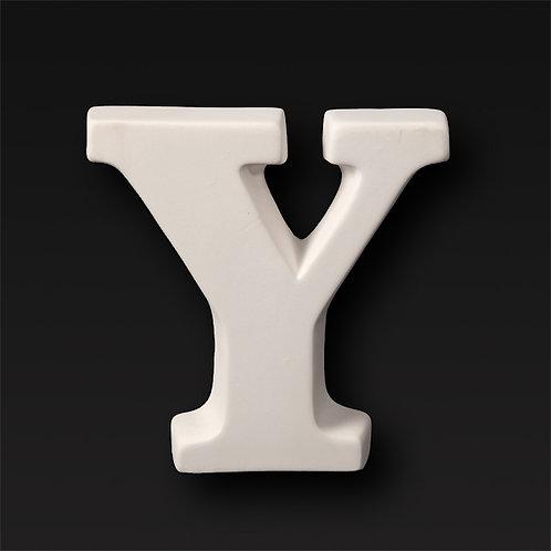Letter Y 12.7cm