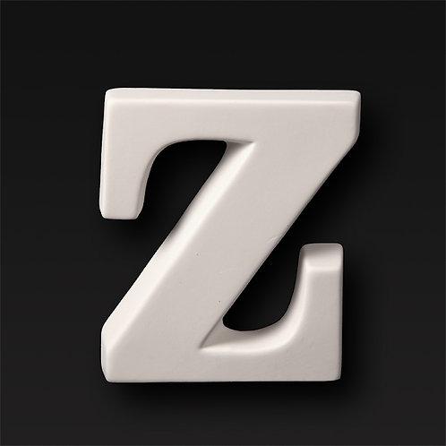 Letter Z 12.7cm