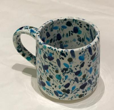 Blue & White Mug
