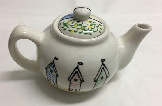 Beach Hut Teapot