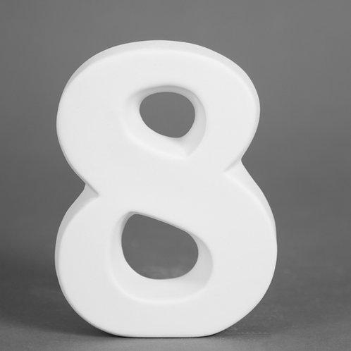 Number 8 12.7cm