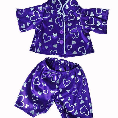 Purple Heart Pyjama Outfit