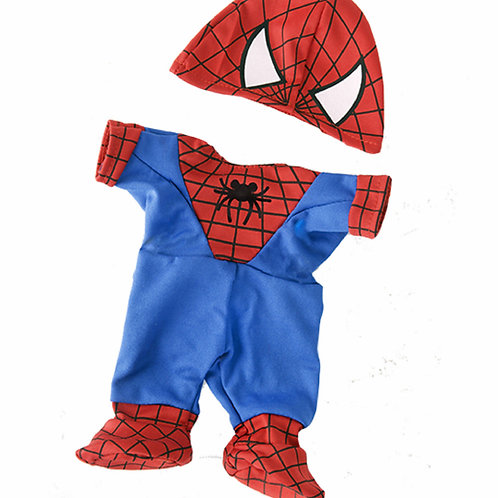 Spidey Teddy Outfit