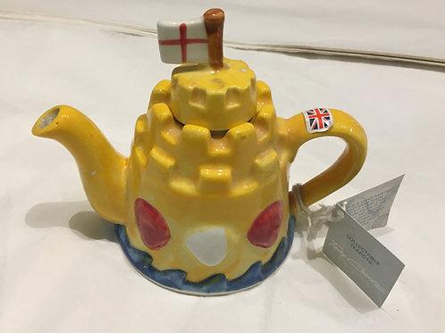 Tony Carter Collectible Teapot - Sandcastle