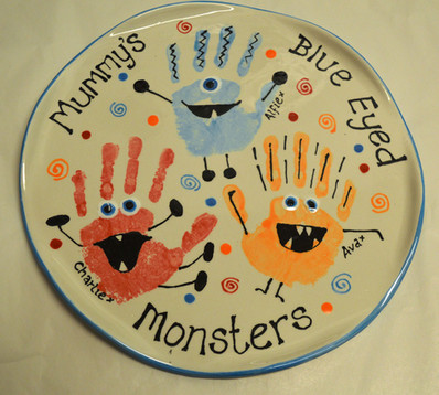 Mummy's Blue-Eyed Monsters