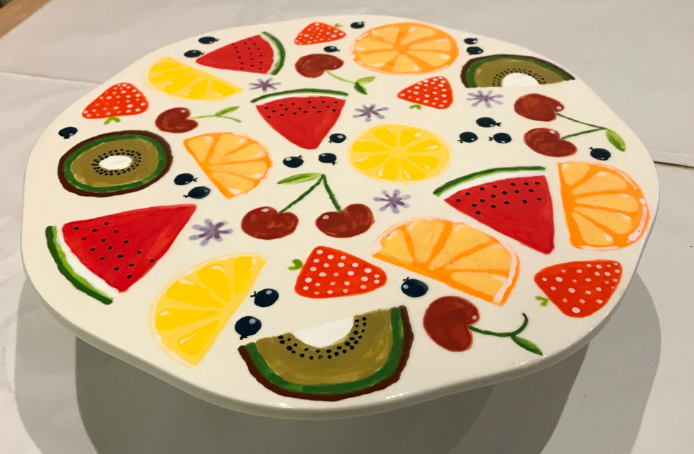 Fruity Cake Platter