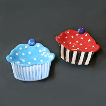 Cupcake Trinket Tray