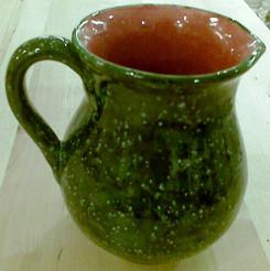 Green Azure Jug