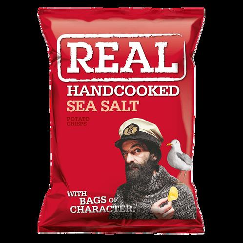Real Handcooked Crisps 35g