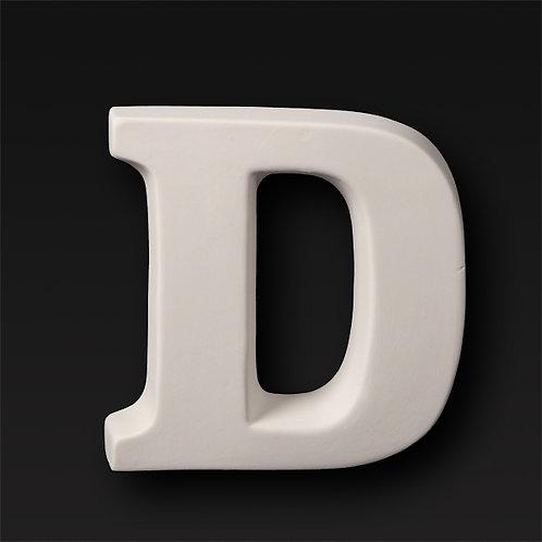 Letter D 12.7cm