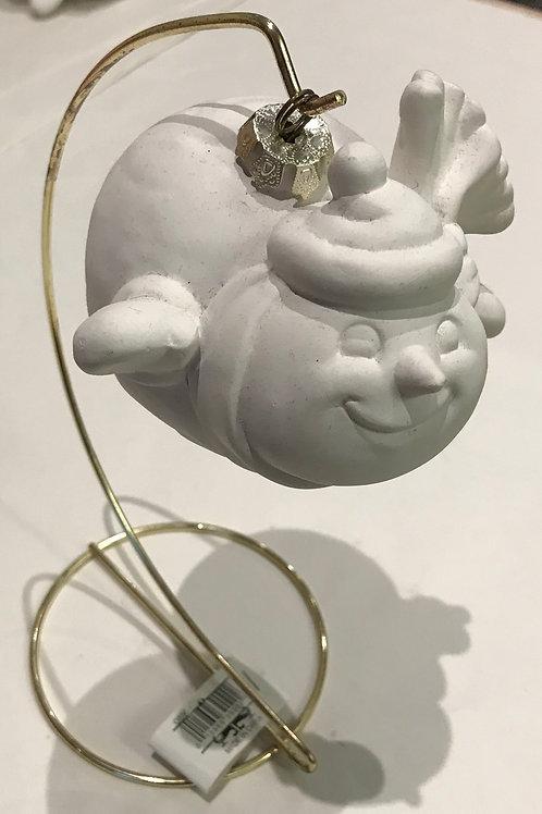 Chubby Snowman Bauble