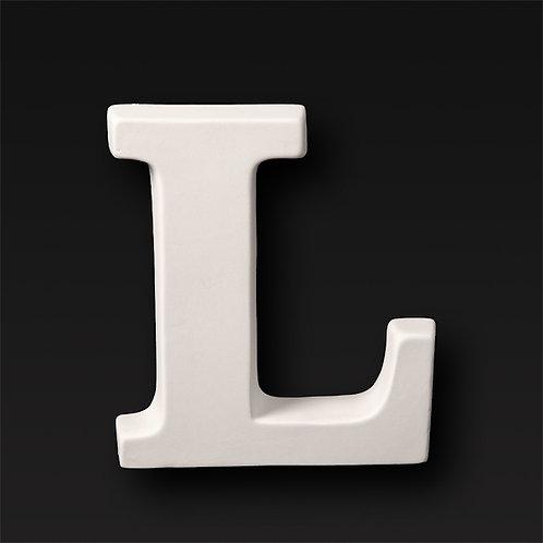 Letter L 12.7cm