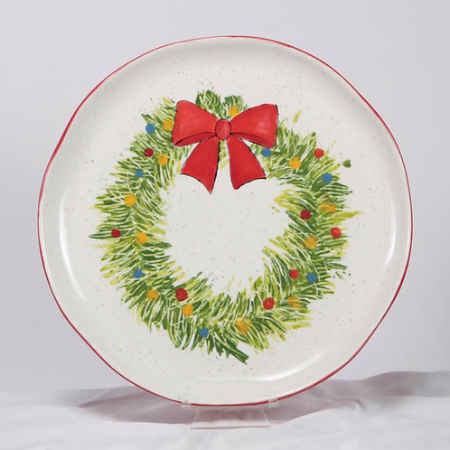 Paint by Numbers - Christmas Wreath Plate