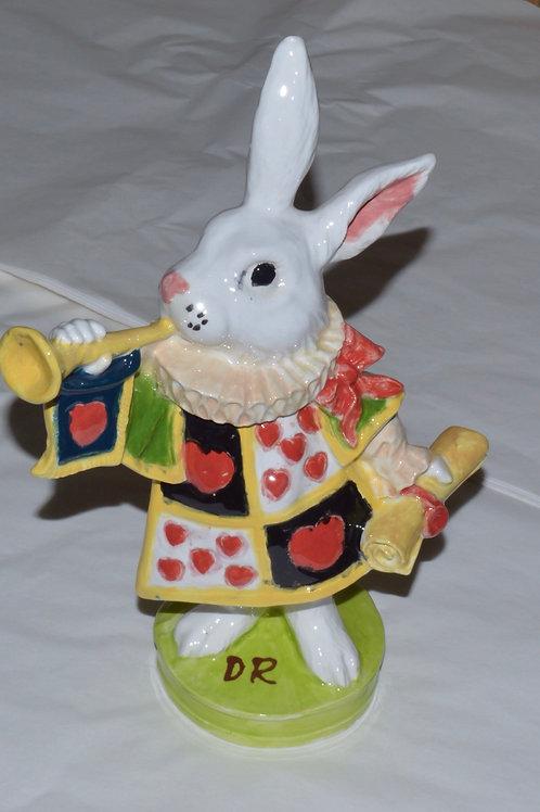 White Rabbit Figure