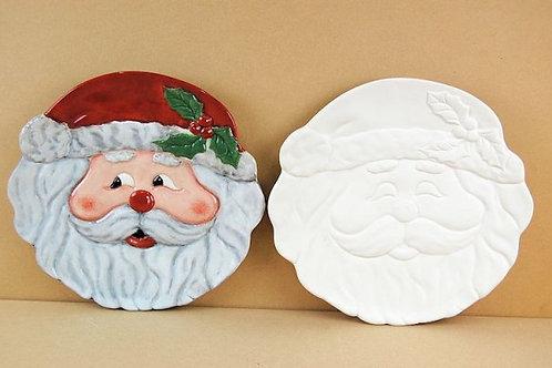 Large Santa Plate