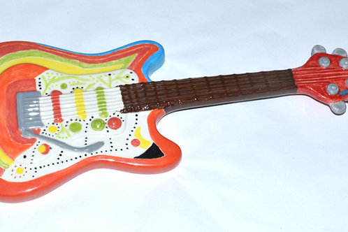 Electric Guitar Wall Plaque