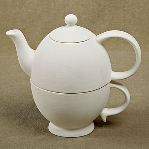 Tea for One Integrated Teapot and Cup