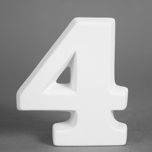 Number 4 12.7cm