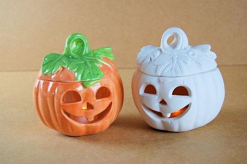 Medium Pumpkin With Lid