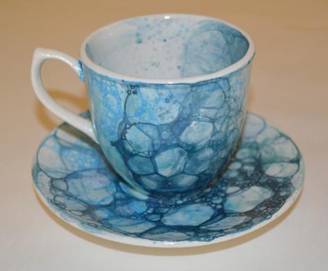 Bubble Cup & Saucer
