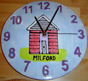 Milford-on-Sea Clock