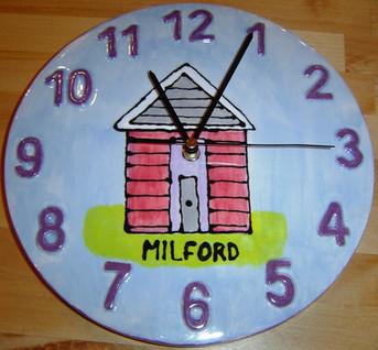 Milford-on-Sea Clock