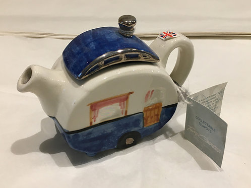 Tony Carter Collectible Teapot - Caravan