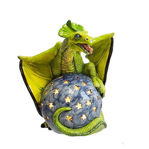 Light-up Dragon on Globe