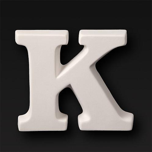 Letter K 12.7cm