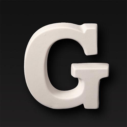 Letter G 12.7cm