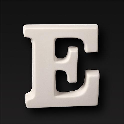Letter E 12.7cm